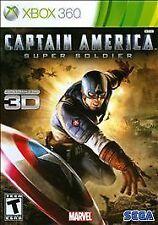 Captain America: Super Soldier - Xbox 360 Game, Ship One Day, Box 97