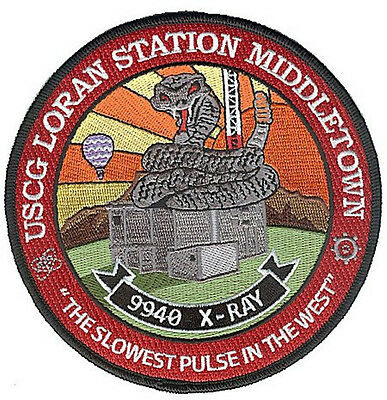 Loran Sta Middletown California W4832 Coast Guard patch