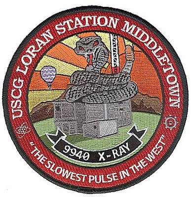 Loran Sta Middletown California W4832 Coast Guard patch