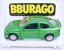 Bburago Burago 1:24 FORD ESCORT RS Performance Sports Car #0143 Model Car MIB!