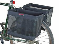 Bushwhacker Omaha - Bicycle Grocery Pannier Cycling Rack Basket Bike Rear Bag - Sold as Pair