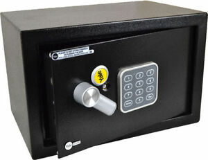 YALE-ELECTRONIC-SAFE-31cm-Wide-Batteries-Included-Time-Lock-Tamper-Protection