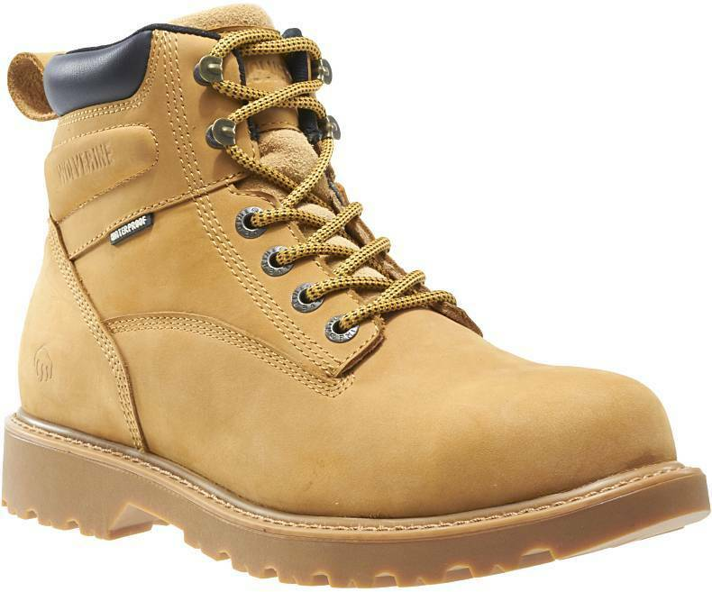 WOLVERINE W10632-EW FLOORHANDS 6  ST Mn's (E W) W) W) Wheat Leather  Work Stiefel e09335