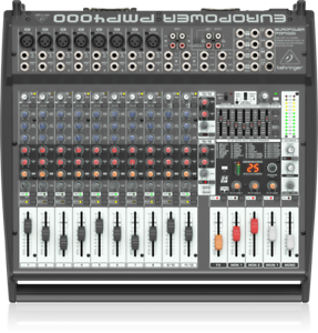 Behringer-PMP4000-Mixer-Amplified-16-Canali-avec-Effets-1200W