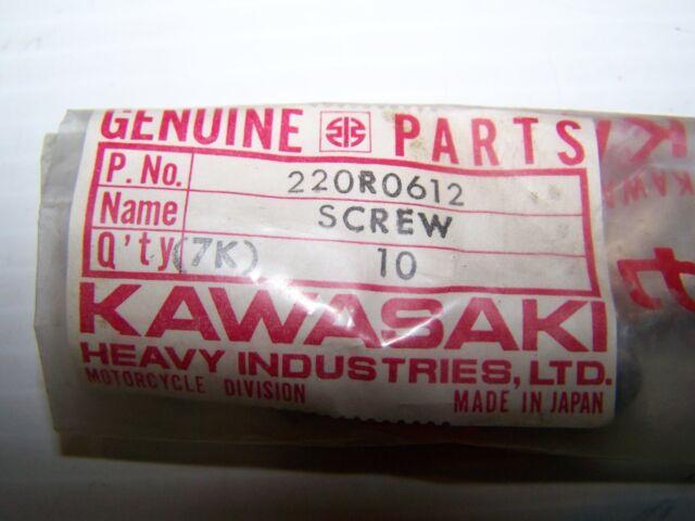 NEW Kawasaki 220E0420A SCREW-PAN HEAD,4X20