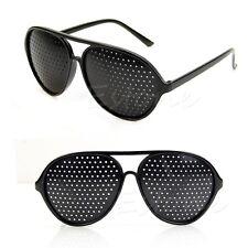 Pinhole Glasses Hole EYE Glasses Anti-Fatigue Vision Care Eyesight Improver New