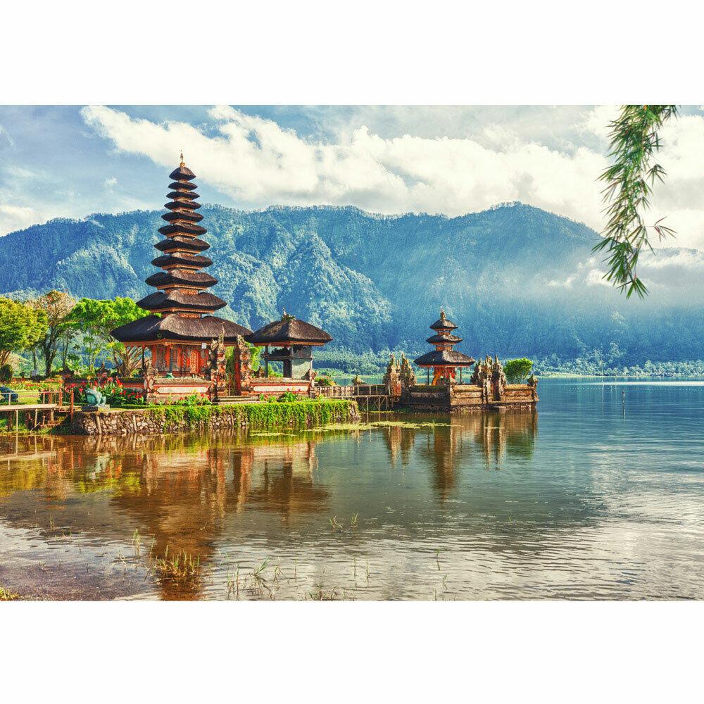Photo Wall Paper Bali Temple Water Natural Liwwing No. 248