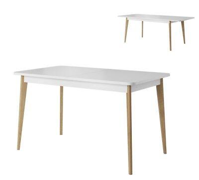 Details zu Tisch NORDI Esstisch ausziehbar, Skandinavisch Still
