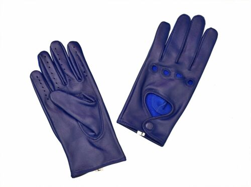 Women Lady/'s Lambskin Soft Genuine Leather Driving Gloves