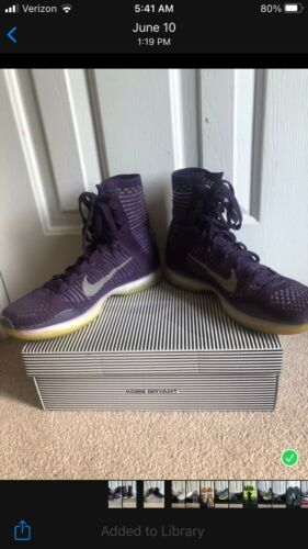 Kobe (Bryant) Elite High  basketball shoes Size 8.