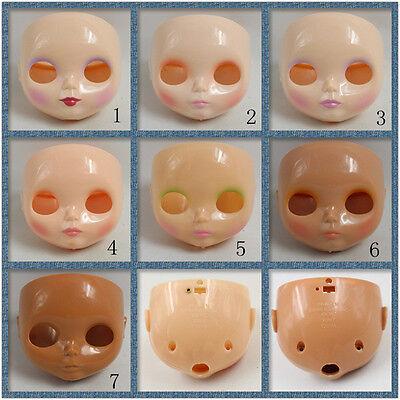 """RBL 12/"""" Neo Blythe Doll White Glossy Skin Takara Blythe Faceplate new sale HOT"""