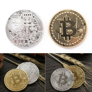 Purity-Plated-Bitcoin-Coin-Collectible-Gift-BTC-Coin-Art-Collection-Physical-New
