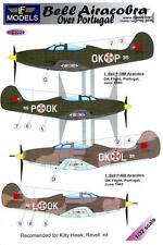 LF Models Decals 1/32 BELL P-39M & P-400 AIRACOBRA OVER PORTUGAL