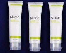 3-MURAD Renewing Cleansing Cream Resurgence 4 oz / 120 ml  x 3 Sealed NEW