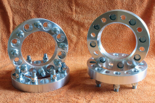 4 Distanziali Wheel Spacers 30 38 o 50mm 8x165.1 8x6.5 CHEVROLET//GMC Silverado