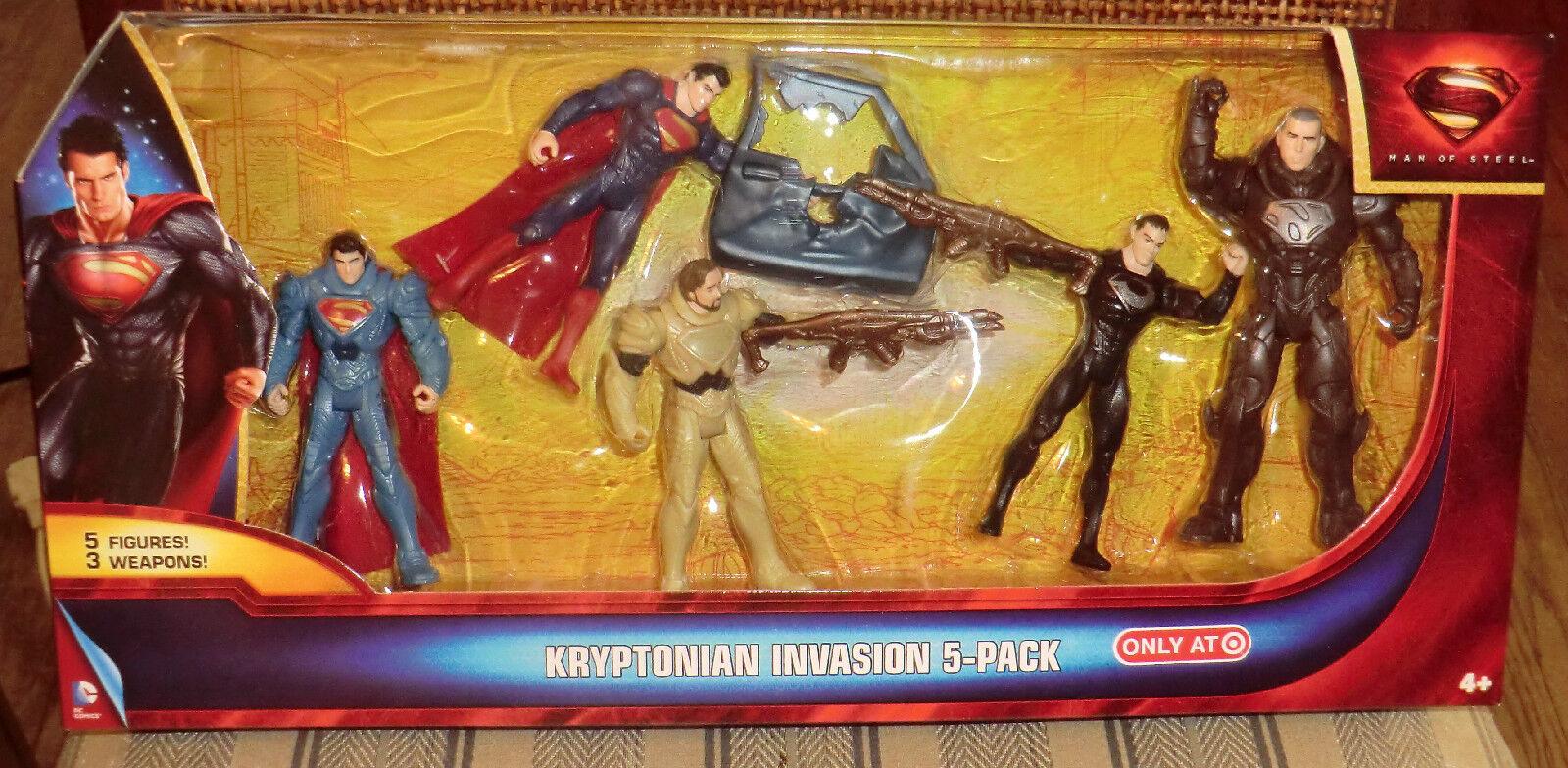 Dc - universum - mann stahl kryptonische invasion eine exklusive 5 zahlen