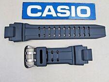 Genuine Casio G-Shock GA-1000 GA-1000-2 navy blue resin rubber watch band GW4000