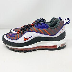 Details about Nike Air Max 98 OG GUNSMOKE WHITE 640744 012 Men Size 9 Phoenix Suns