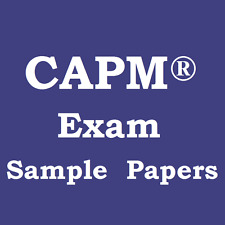 Certified Associate Project Management CAPM® Mock Exam Sample Papers x3
