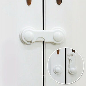 Door Security Latch Children Protector Baby Safety Lock For Toddler Kids