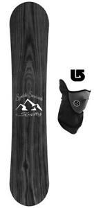 Symbolic-Knotty-Wide-amp-Reg-Snowboard-160-163-167cm-Men-Powder-Mask-Burton-Decal
