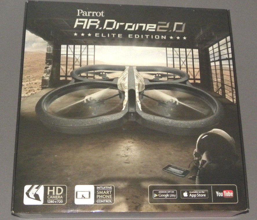 Parrot Ar Drone 2.0 Arena Ee Elite Edición con HD de Volador Rc Vehículo Nuevo