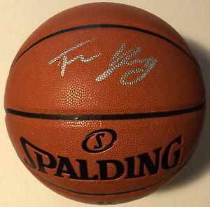 1c454433f7b TRAE YOUNG SIGNED NBA REPLICA GAME BALL ATLANTA HAWKS NBA DRAFT AUTO ...