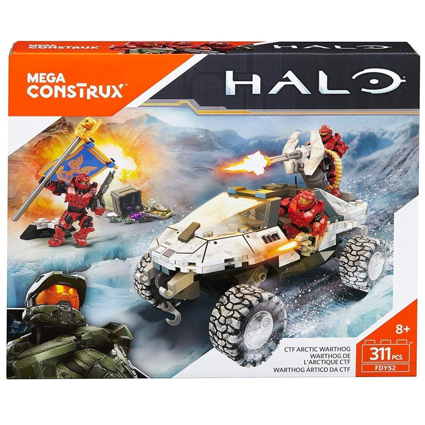 Mega Bloks FDY52 Mega Construx Halo Artic Warhog