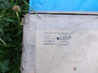 ww2 raf spitfire hurricane rolls royce merlin  rocker cover gaskets rare item