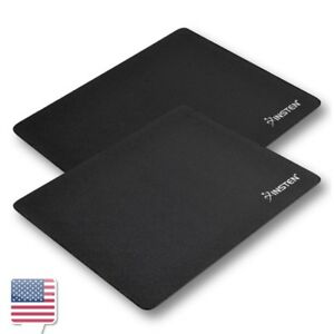 2-Pcs-Pack-Black-Mousepad-For-Optical-Trackball-Mouse-Mice