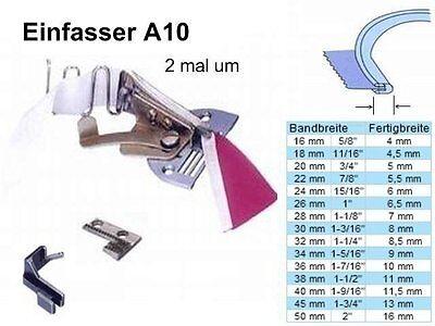 Einfasser A10 für Band 28 mm zu Fertigbreite 7 mm !  #SP
