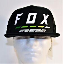 974720f9e Fox Racing Cap Hat Pro Circuit Draftr Snapback Black One Size 22196 ...