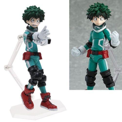 Anime Figma 323# My Hero Academia Midoriya Izuku Figure Figurine Brand New Toy