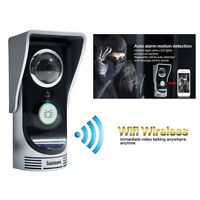 Wireless Wifi Remote Video Camera Doorphone Doorbell Night Vision Home Security