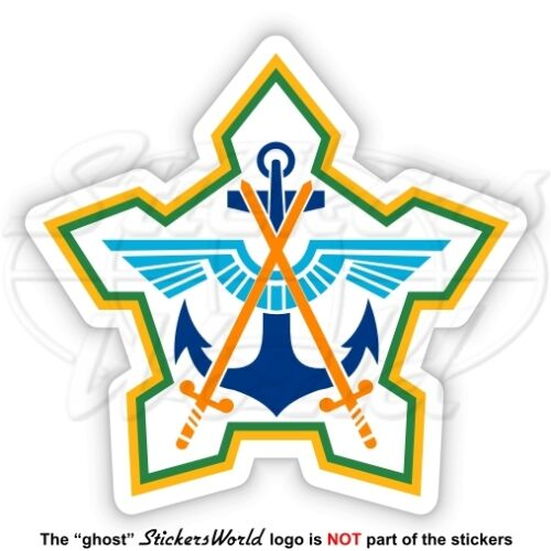 SOUTH AFRICA DEFENCE FORCE Former Badge SADF ex S.African Armed Forces Sticker
