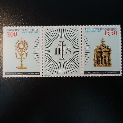 Andorra Francese N°492a Patrimonio Culturale Neuf Luxe Mnh Warm And Windproof Andorra