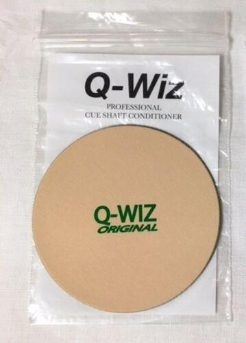 Q-Wiz Shaft Conditioner Nielsen/'s Billiard or Q-Wiz 2 Logo Choices Polisher