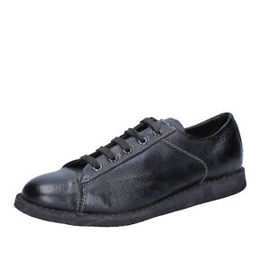 Donna Bt185 Eu Scarpe Moma Pelle 37 Sneakers Nero 8nnd0fwq