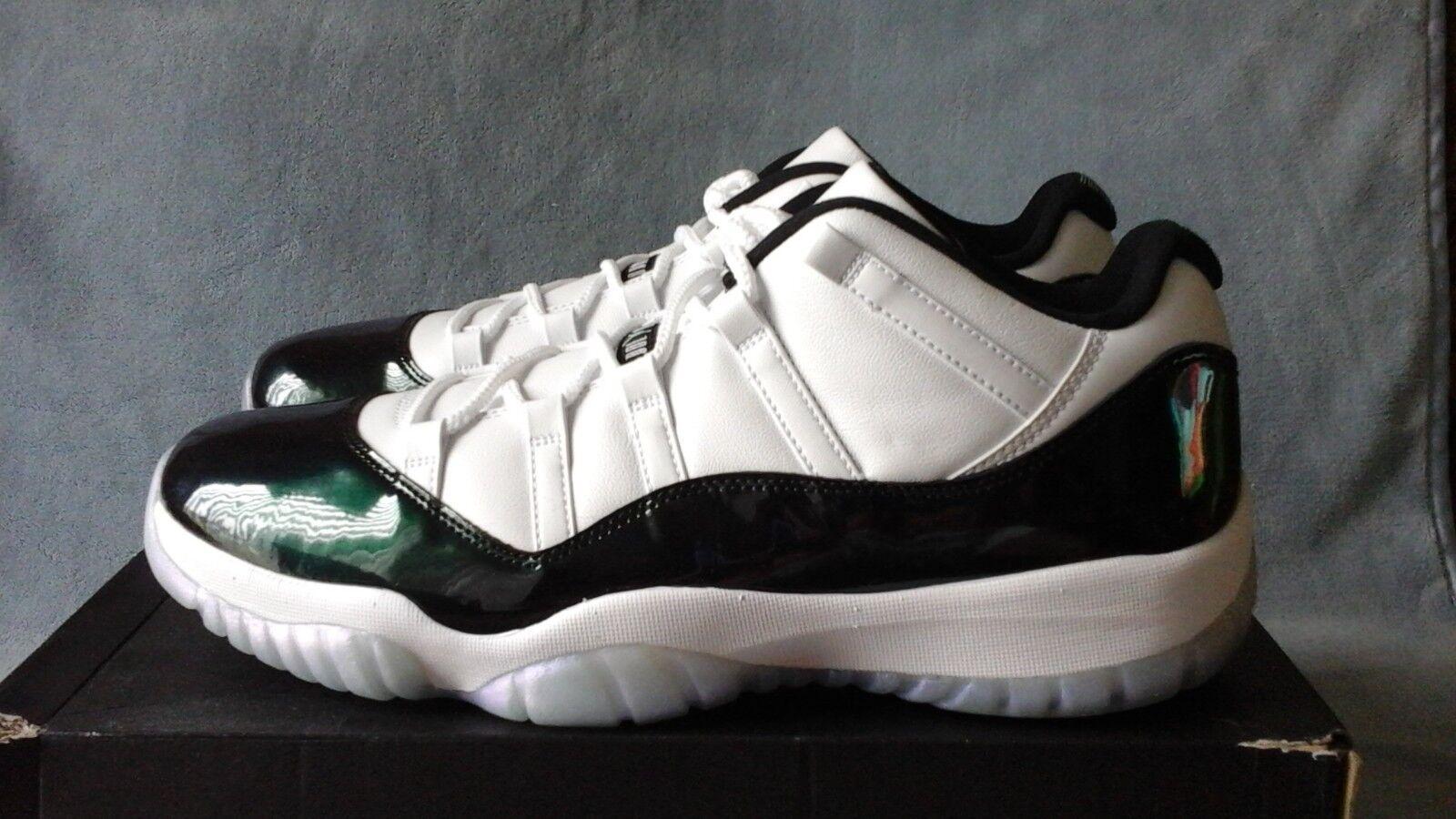 Nike Air Jordan Emerald 11 Retro Low blanc Emerald Jordan 528895-145 6ca102