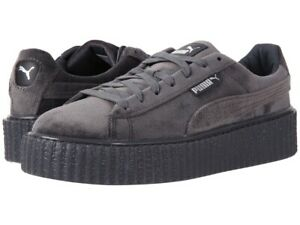 Puma-X-Fenty-Creeper-Velvet-Glacier-Gray-UK-4-5