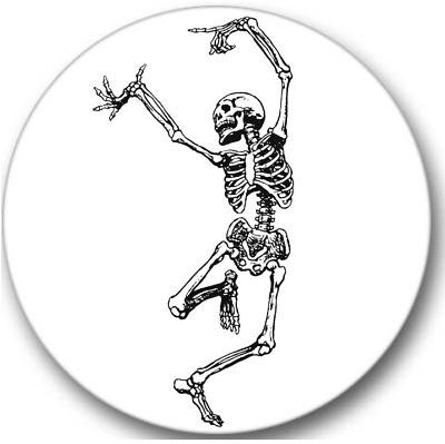 halloween stickers 12 round stickers Dancing Skeleton Sticker Seals No.350