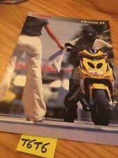 Yamaha Scooter Aerox 50 R  prospectus brochure prospekt catalog dépliant catalog