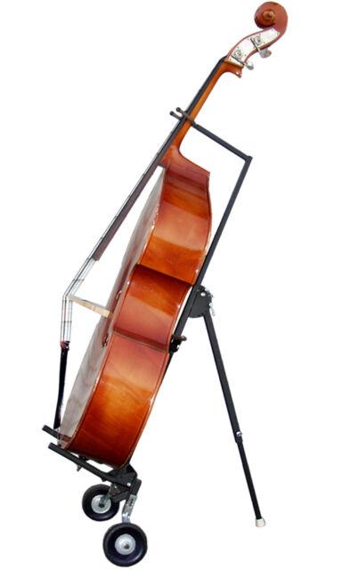 string swing hh101 upright bass cello stand cart hanger for sale online ebay. Black Bedroom Furniture Sets. Home Design Ideas