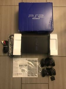 Sony Playstation 2 Fat Console PS2 Model SCPH-30001 w/2 Controllers Tested