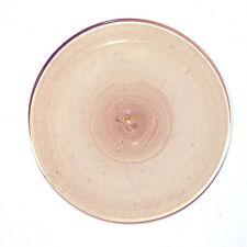 Glasbutzen 10cm hellbraun - mundgeblasen Butzenscheiben Tiffany Glass Rondel B16
