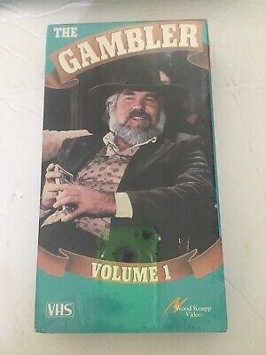 NEW The Gambler Volume 1 VHS Kenny Rogers 1980, Wood Knapp ...