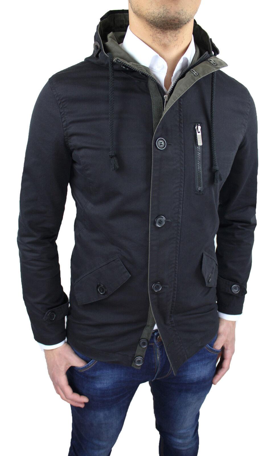 Inverno Uomo Pelliccia Con Pelle Giacca Calda Giacca Pelle ispessimento medio-lungo bavero Cappotto Outwear d8ad2a