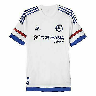 official photos c2805 15b7d AH5108 adidas CFC Chelsea Away White Soccer Jersey Men's Size L for sale  online | eBay