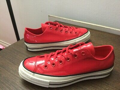 57dc02bda8b8 Converse Chuck Taylor All Star 70 OX Patent Leather Cherry Red 162442C 6-8.5