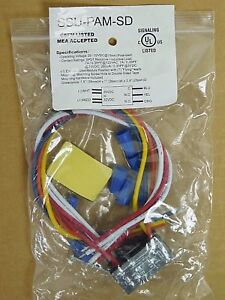 (1) NEW! SSU-PAM-SD Space Age Multi-Voltage Relay, 7A, SPDT, Encapsulated (PO)
